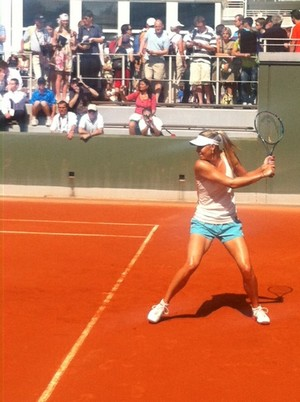 entrainement sharapova